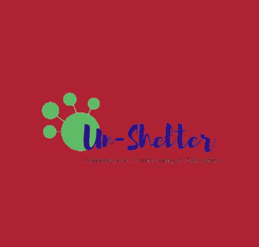 The Un-Shelter Winter 2020 Merch Sale shirt design - zoomed