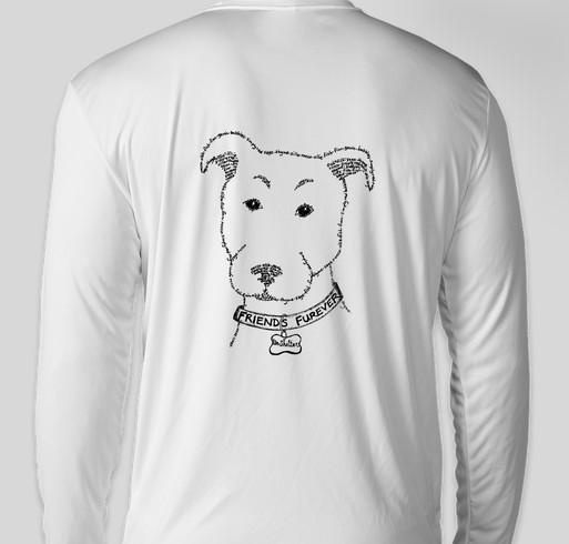 The Un-Shelter Winter 2020 Merch Sale Fundraiser - unisex shirt design - back