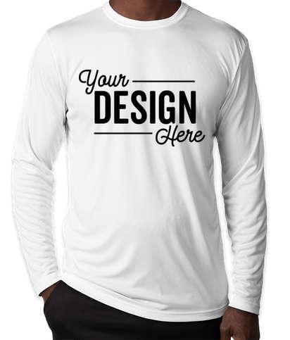 Custom Sport Tek Competitor Long Sleeve Performance Shirt Design Long Sleeve Performance Shirts Online At Customink Com Find & download free graphic resources for sports shirt. custom sport tek competitor long sleeve