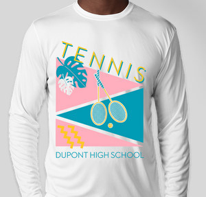Tennis Retro Dupont High