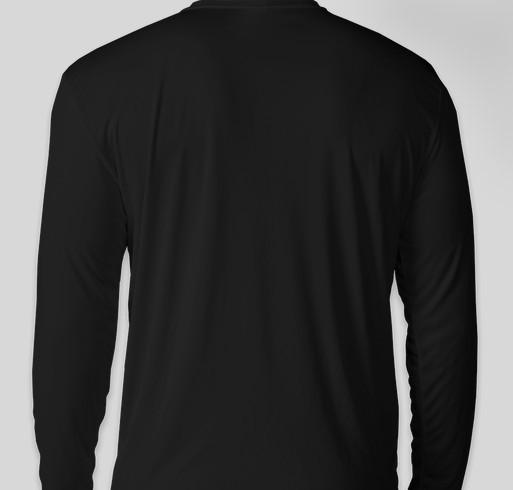 Chinquapin Prep Cross Country Fundraiser - unisex shirt design - back