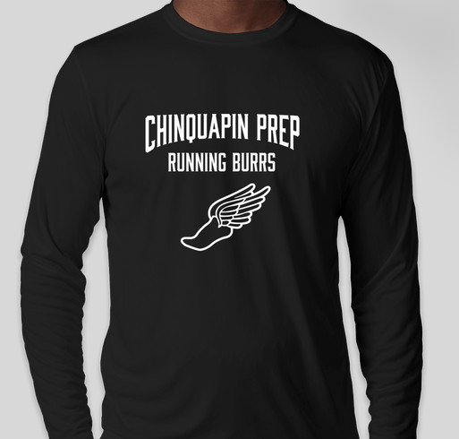 Chinquapin Prep Cross Country Fundraiser - unisex shirt design - front