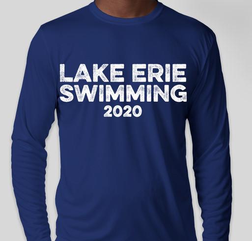 Lake Erie Swimming Fundraiser - unisex shirt design - front