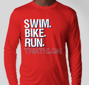 Swim. Bike. Run.