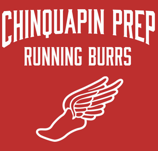 Chinquapin Prep Cross Country shirt design - zoomed