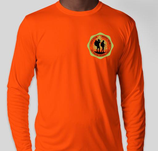 Support the Sam Houston Trails/Hiking Element Fundraiser - unisex shirt design - front