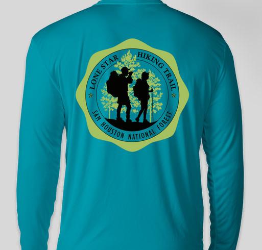 Support the Sam Houston Trails/Hiking Element Fundraiser - unisex shirt design - back