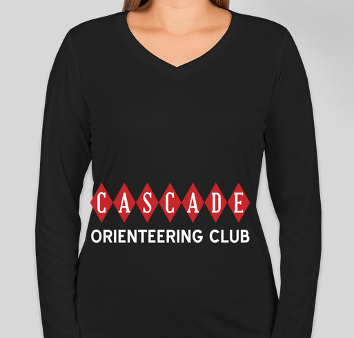 Cascade Orienteering Club Hoodies/Shirts Fundraiser - unisex shirt design - front
