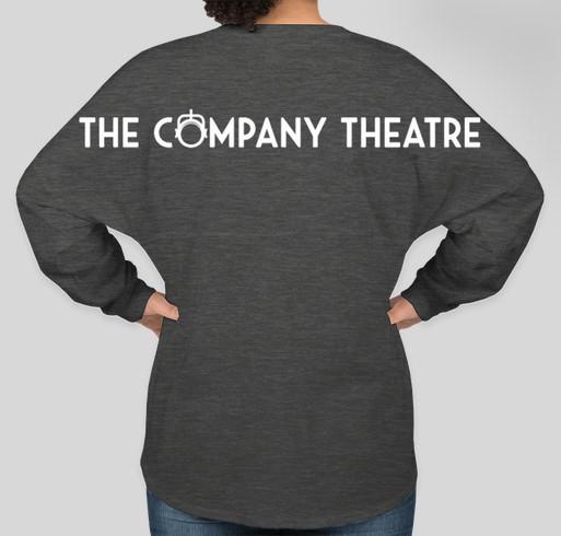 The Company Theatre Spirit Jersey Fundraiser - unisex shirt design - back