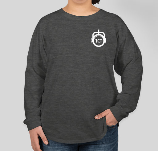 The Company Theatre Spirit Jersey Fundraiser - unisex shirt design - front