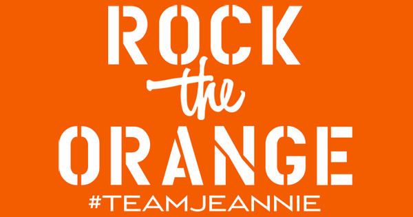 rock the orange