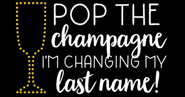 pop the champagne