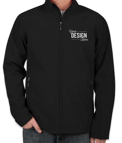 Core 365 Fleece Lined Soft Shell Jacket - Black