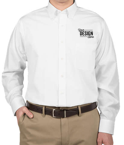 Van Heusen Baby Twill Dress Shirt - White