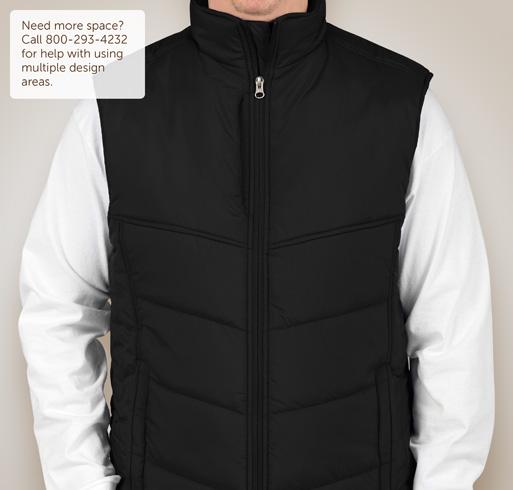 Port Authority Puffy Vest - Black
