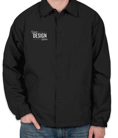 Sport-Tek Coaches Jacket - Black