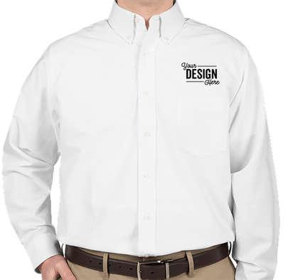 Ultra Club Wrinkle-Free Oxford Dress Shirt - White
