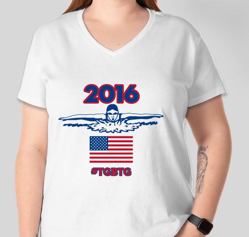 Team Worrell: Rio Bound Fundraiser - unisex shirt design - front