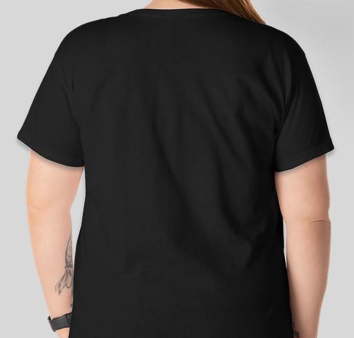 Bitchy's car blew up. Fundraiser - unisex shirt design - back