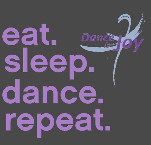 Dance for Joy Recital 2018 shirt design - zoomed