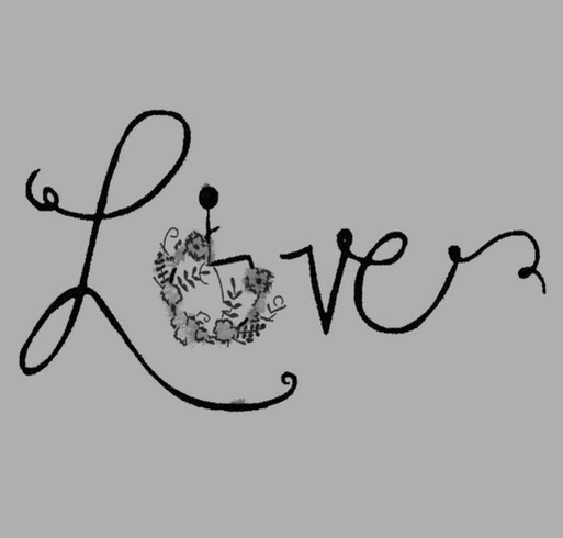 T-shirts for Bailynn - support Bailynn with our Wheelchair Love T-shirt Design! shirt design - zoomed