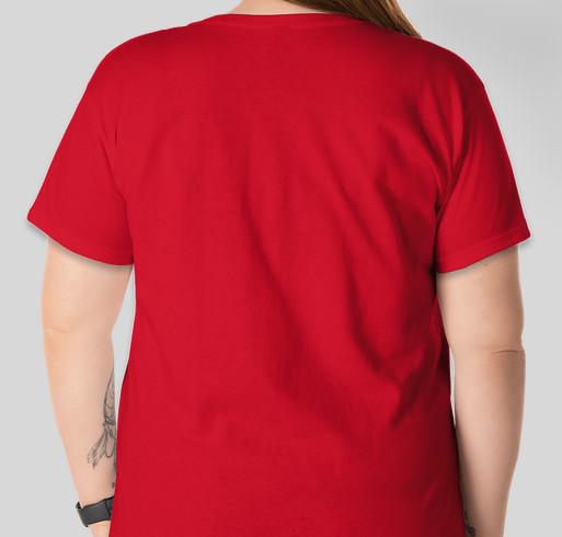 """The """"Chopper the Biker Dog T-Shirt"""": Back by popular demand! Fundraiser - unisex shirt design - back"""