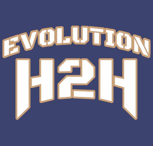 EVOLUTION H2H LLC shirt design - zoomed