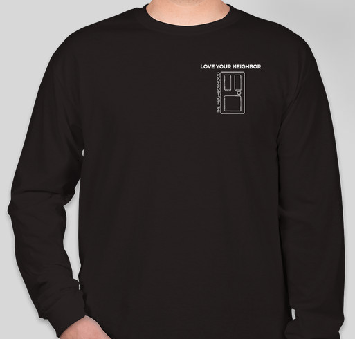 """Love Your Neighbor"" - The Neighborhood College Ministry Puerto Rico Mission Trip Fundraiser - unisex shirt design - front"