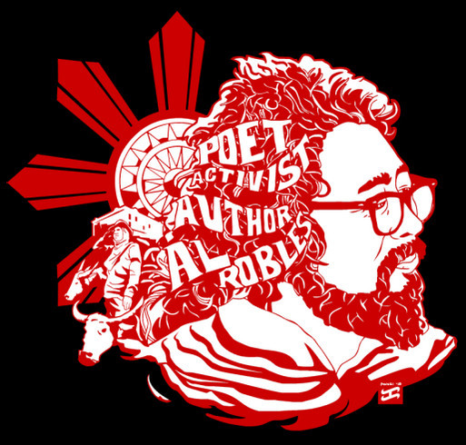 Al Robles Express shirt design - zoomed
