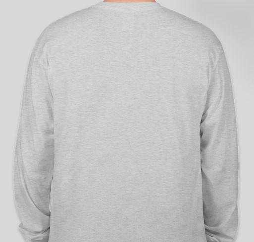Have a Golden Christmas! Fundraiser - unisex shirt design - back