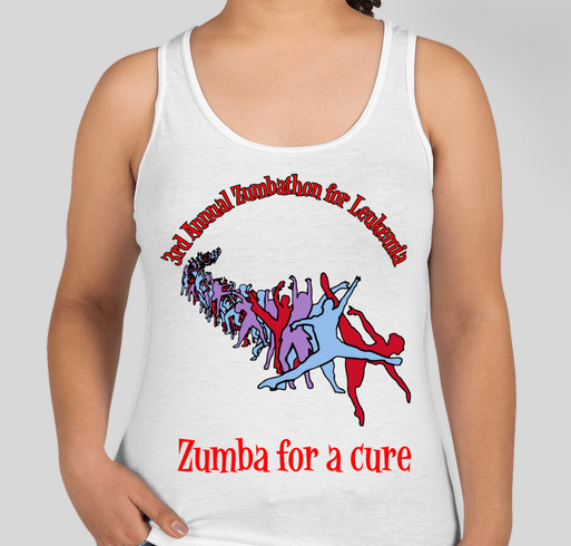 7ed85bfce 3rd Annual Zumbathon for a Cure Fundraiser - unisex shirt design - front