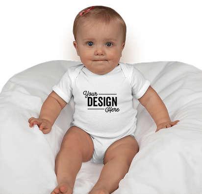 Canada - Rabbit Skins Baby Bodysuit - White