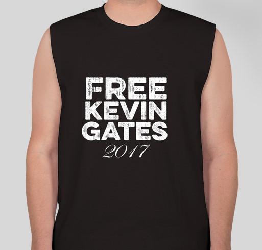 Free Kevin Gates 2017 Fundraiser - unisex shirt design - front