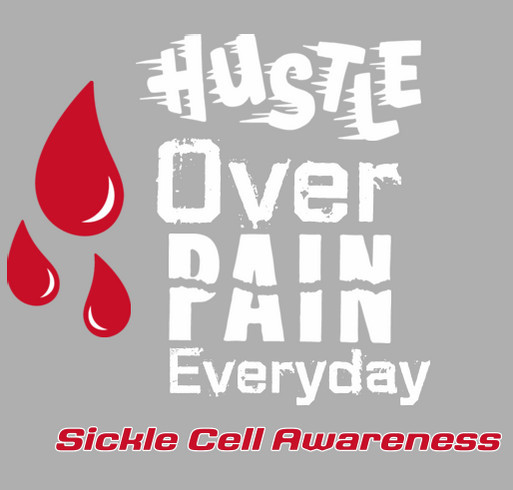 No Pain In The Playroom : Sickle Cell Awareness shirt design - zoomed