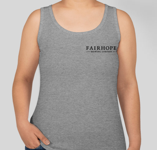 Drink Local and Support Local with Fairhope Brewing Fundraiser - unisex shirt design - back