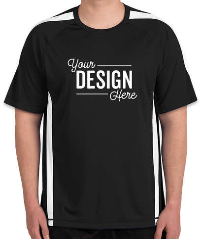 Canada - ATC Competitor Colorblock Performance Shirt - Black / White