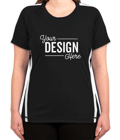 Canada - ATC Women's Competitor Colorblock Performance Shirt - Black / White