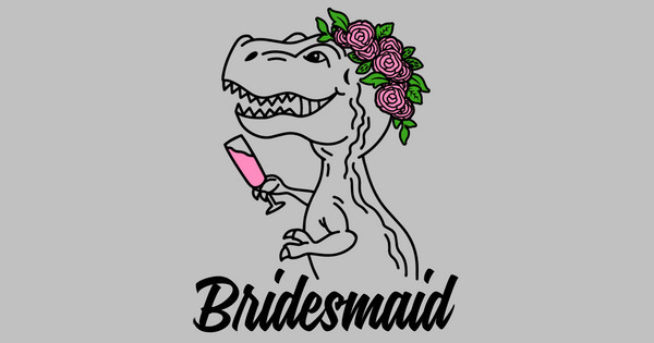 trex bridesmaid