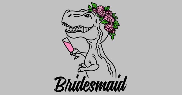 trex bridesmaid