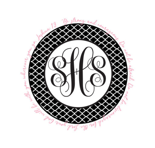 SHS Monogram Shirt Custom Ink Fundraising