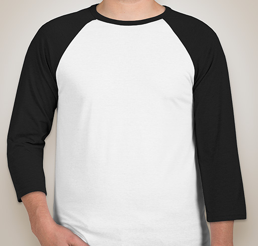 Canvas Lightweight Baseball Raglan - White / Black