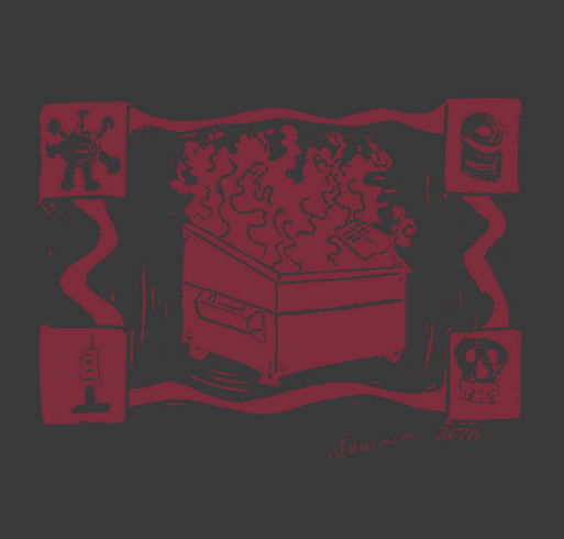 Support New Mexico Restaurant Workers shirt design - zoomed