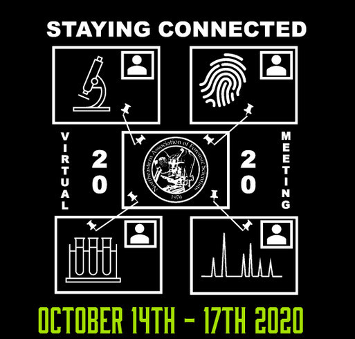 NEAFS 2020 Virtual Annual Meeting shirt design - zoomed