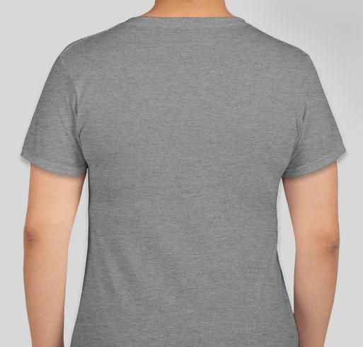 FCPS PRIDE 2021 Fundraiser - unisex shirt design - back