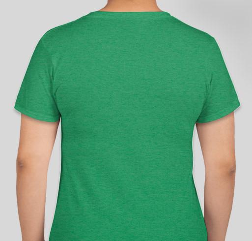 Kids Need Books Fundraiser - unisex shirt design - back