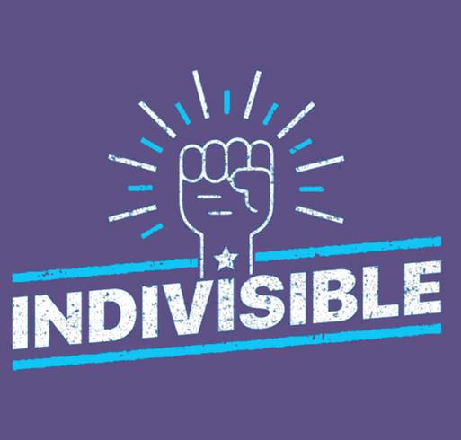 All Politics is Local: Join the Summer of Indivisible Campaign shirt design - zoomed