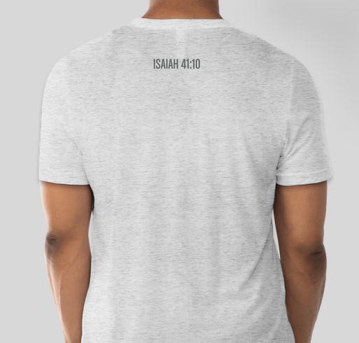 Faith Like Fred Fundraiser - unisex shirt design - back