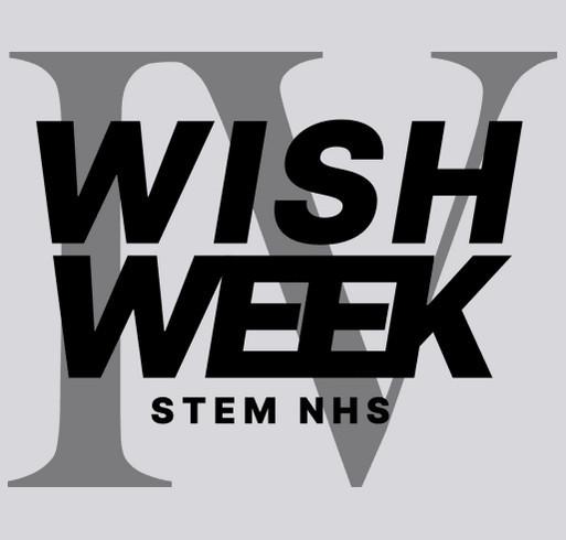 Wish Week Episode IV: Light Side shirt design - zoomed