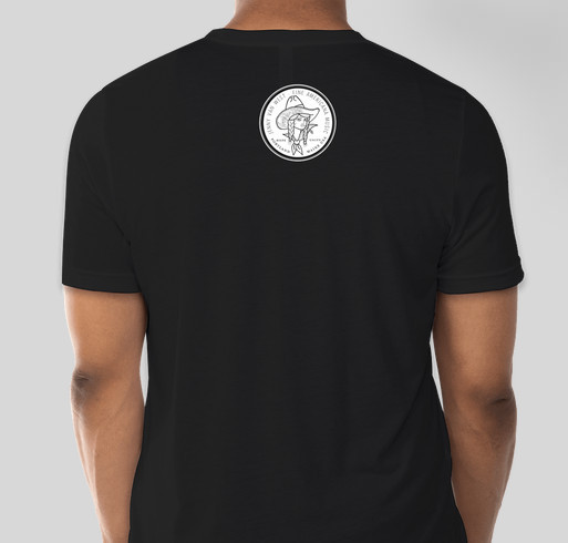 T-shirts for Fair Fight by Jenny Van West Music Fundraiser - unisex shirt design - back