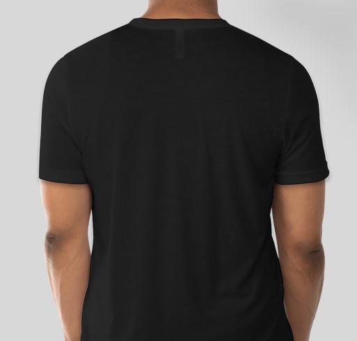 Straight outta neutrophils Fundraiser - unisex shirt design - back